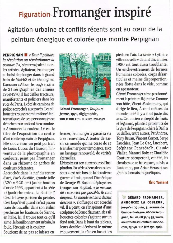 Annoncez la couleur !  ACMCM Perpignan 2014