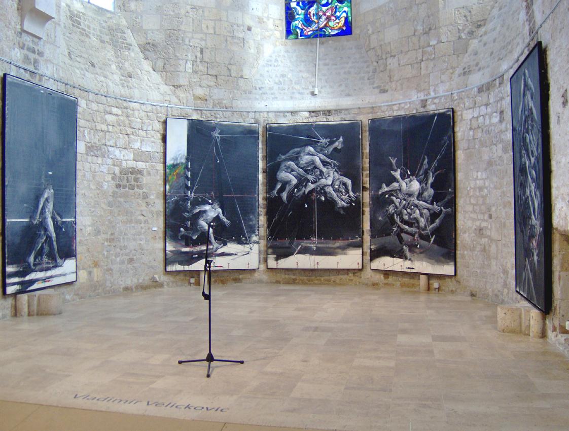 La mémoire du geste Collégiale le Puellier Orléans 2011