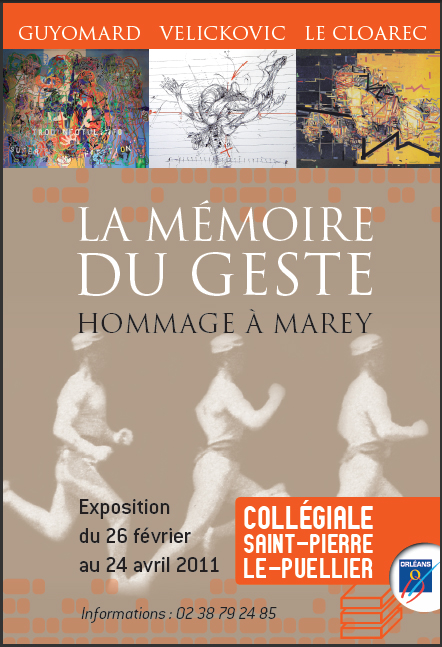 La mémoire du geste Collégiale Orléans 2011