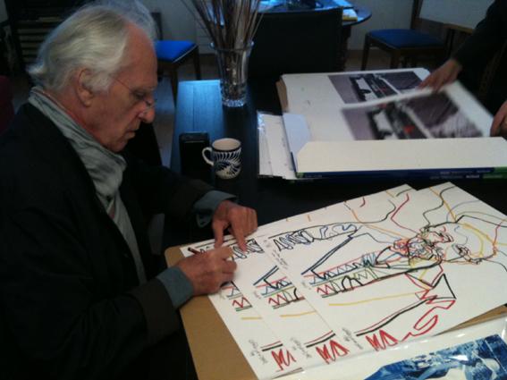Gérard Fromanger Annoncez la couleur Le Garage 2009