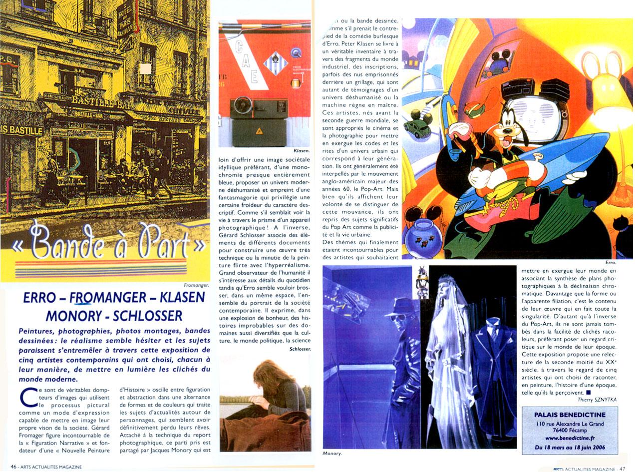 Art magazine mars 2006