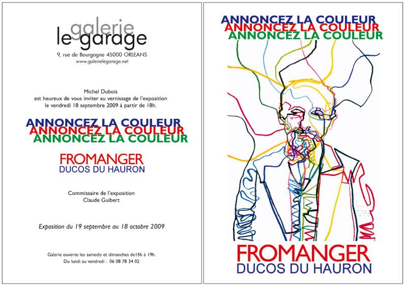 Annoncez la couleur Le Garage 2009