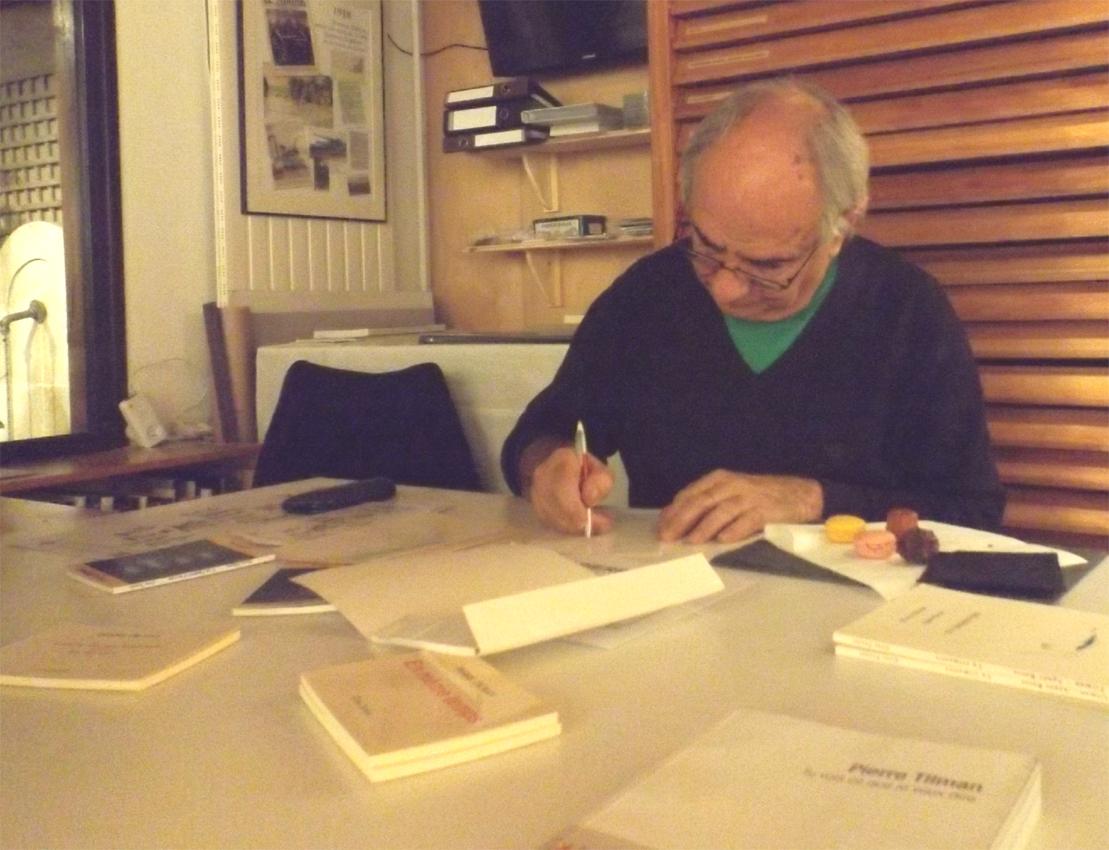 Pierre Tilman, La parole est d'Art Galerie le Garage Orléans 2015