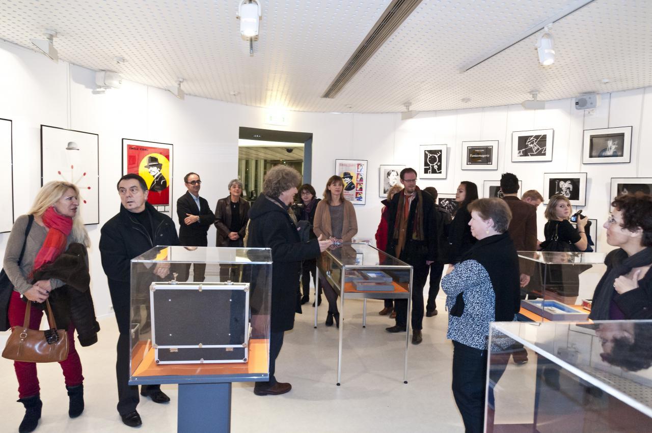 Hommage à Emile Cohl Médiathèque Orléans 2012