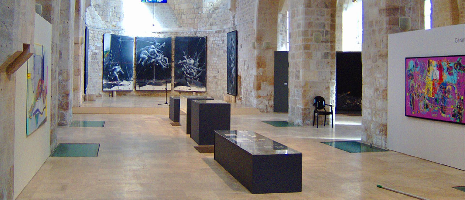 """""""La mémoire du geste"""" Collégiale Saint-Pierre le Puellier Orléans 2011"""
