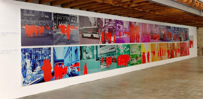 Annoncez la couleur !  A cent mètres du centre du monde Perpignan 2014